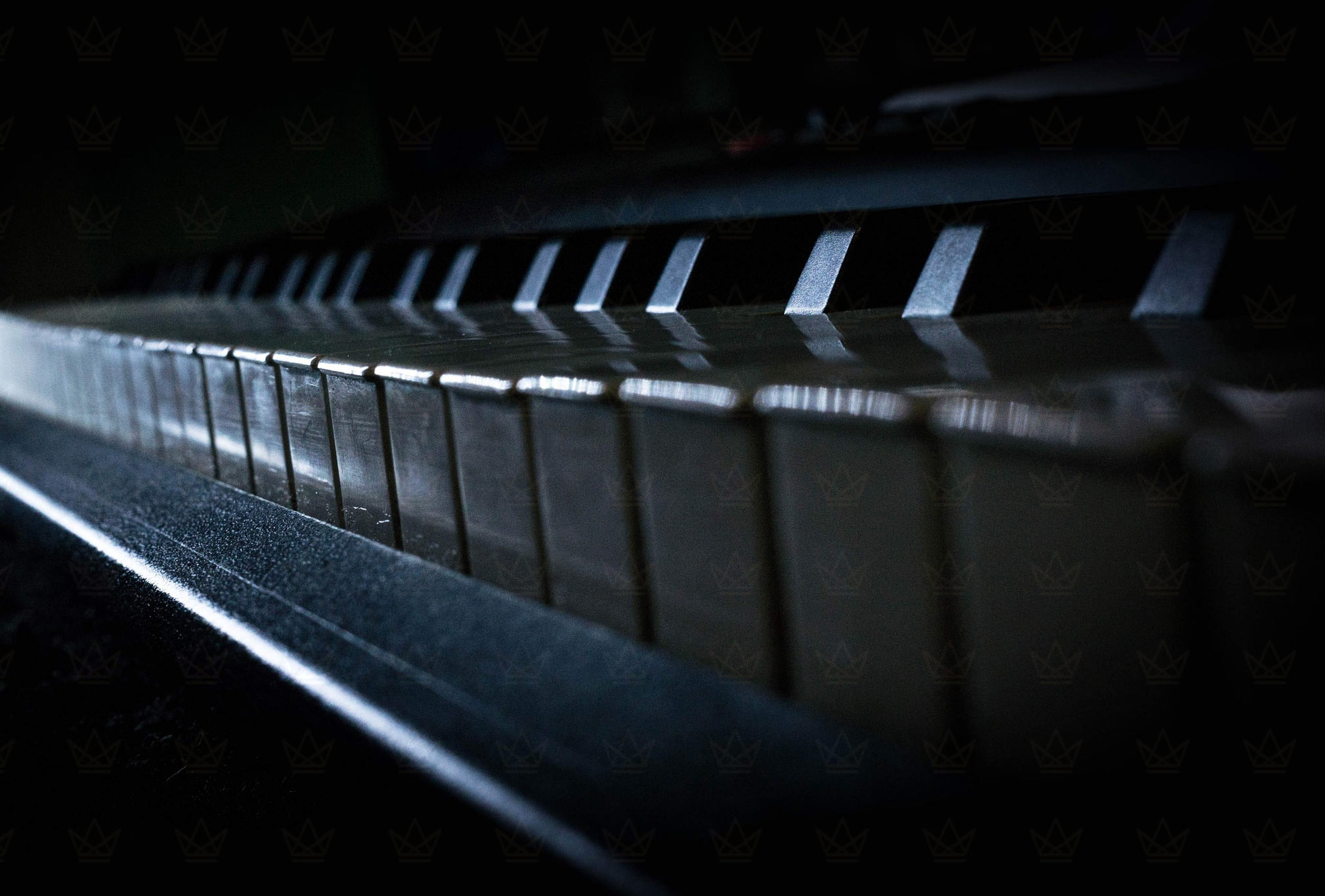 piano keys with classic piano repairs logo watermarked